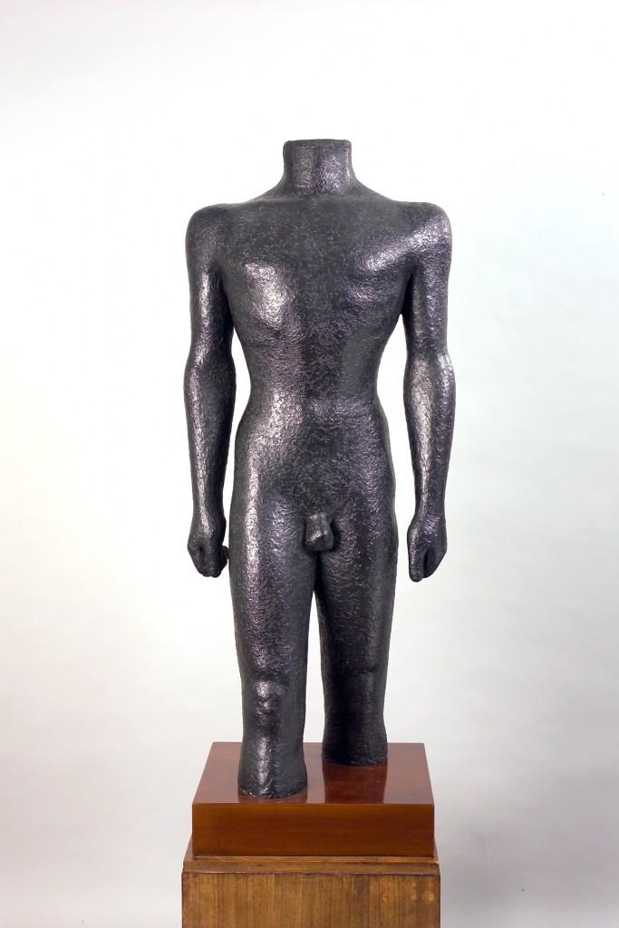 Dora Gordine, Dyak/Headhunter/Man, bronze, 1931-2