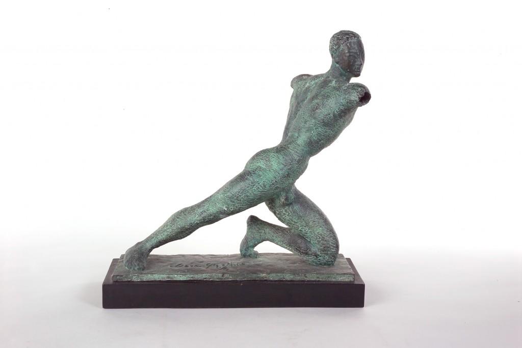 Dora Gordine, Typhoon, bronze, 1947-9