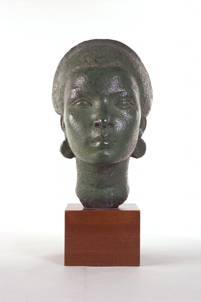 Guadeloupe Head, 1926-28, bronze