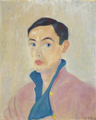 Dora Gordine, Richard Hare as a Young Man, oil on canvas, 1929-30