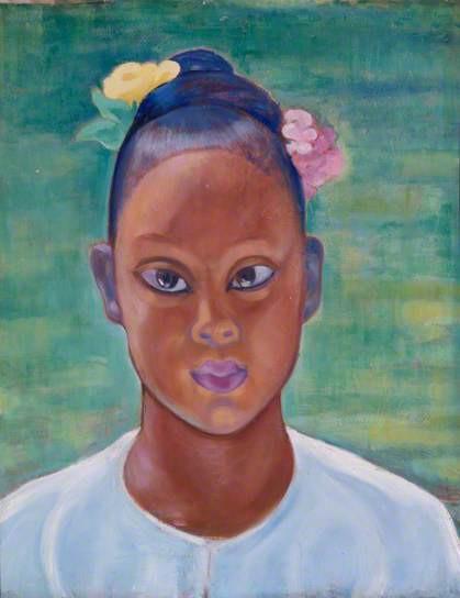 Lady of Java, 1930-5, oil on canvas