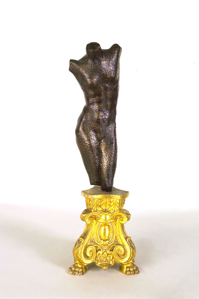 Dora Gordine, Young America/American Girl/Female Torso, bronze,1926-28