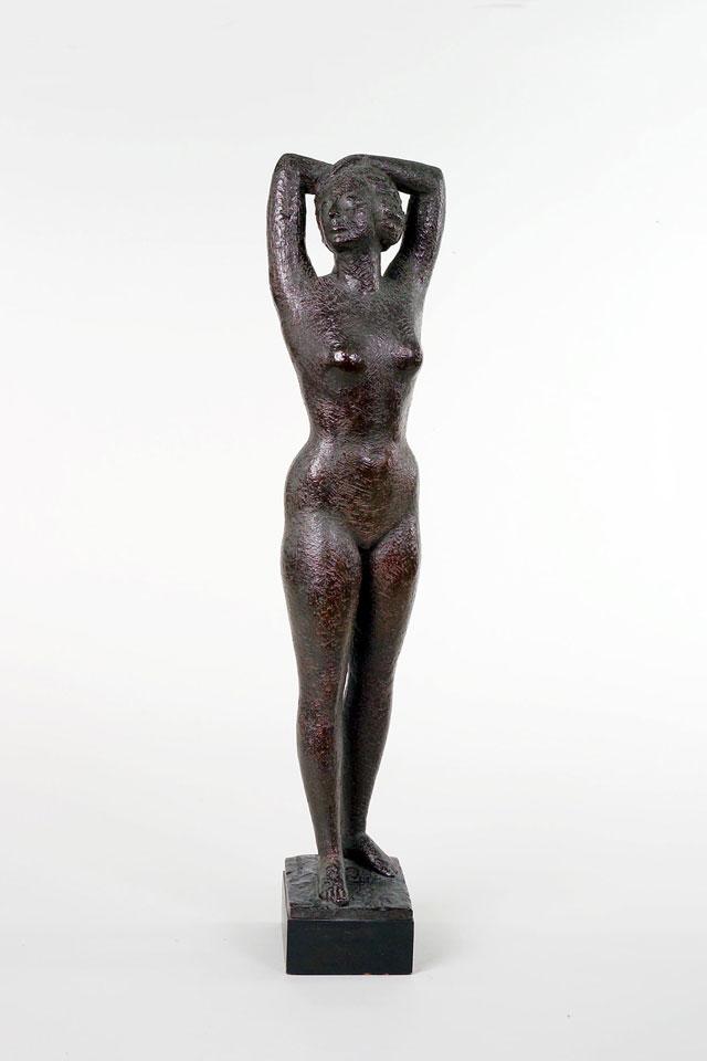 Dora Gordine, Standing Female Nude (Dame Edith Evans), bronze,1938