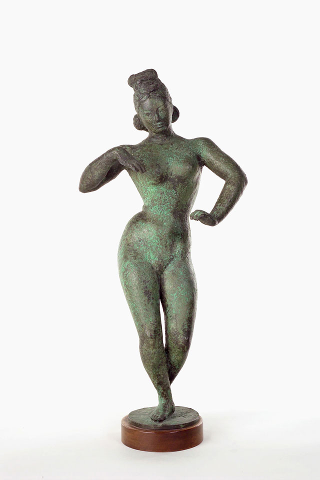 Dora Gordine, Houri/Silent Bride, bronze, 1944-45