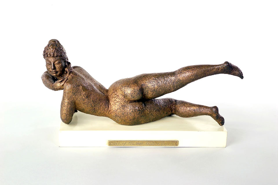 Dora Gordine, Laugh of the Moon, bronze, 1945