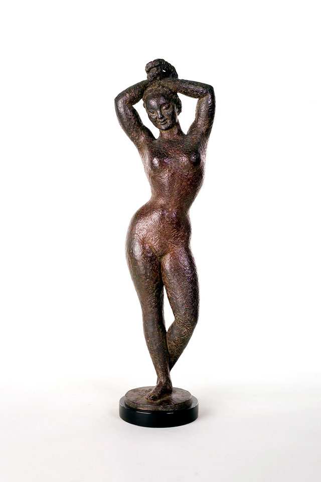 Dora Gordine, Arise, bronze, 1945-46