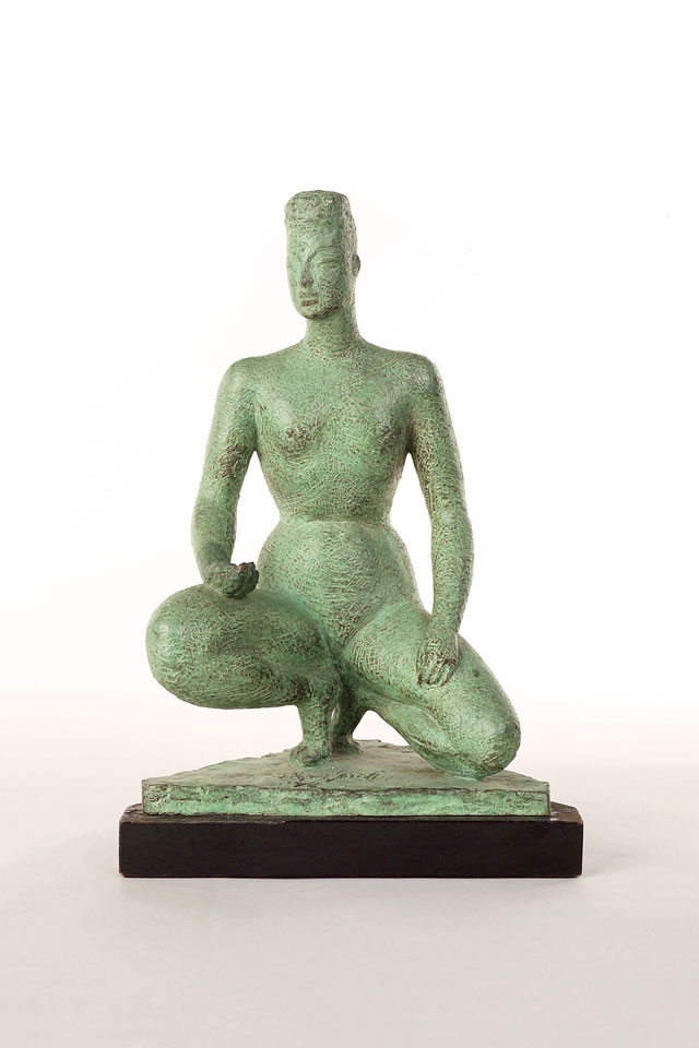 Dora Gordine, Flawless Crystal, bronze, 1949