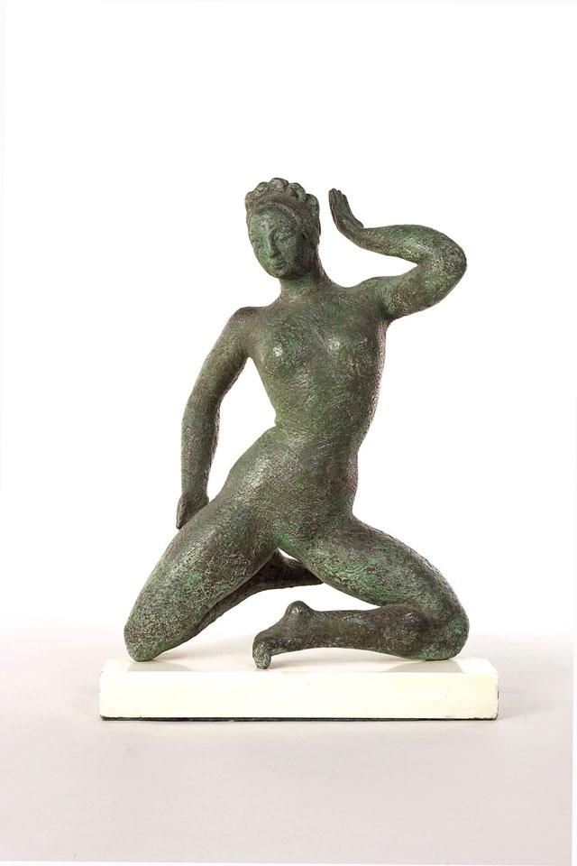 Dora Gordine, Sylphide, bronze, 1948-49