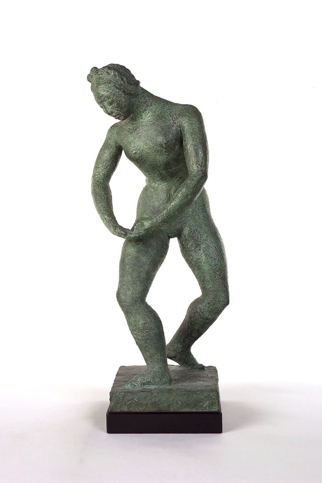 Dora Gordine, Berceuse/Cradle Song, bronze, 1946-47