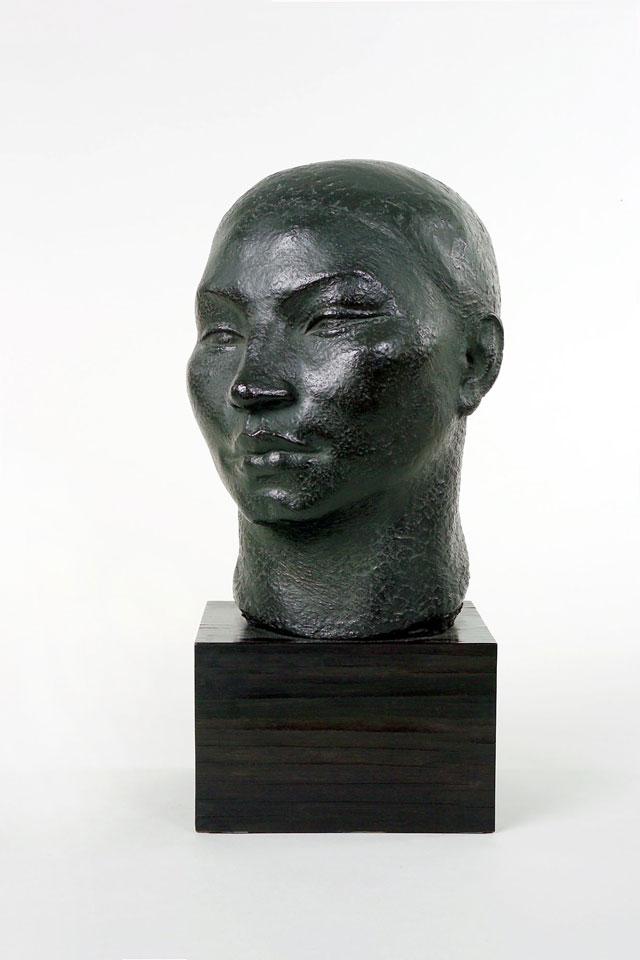 Dora Gordine, Mongolian Head, 1926-8, bronze