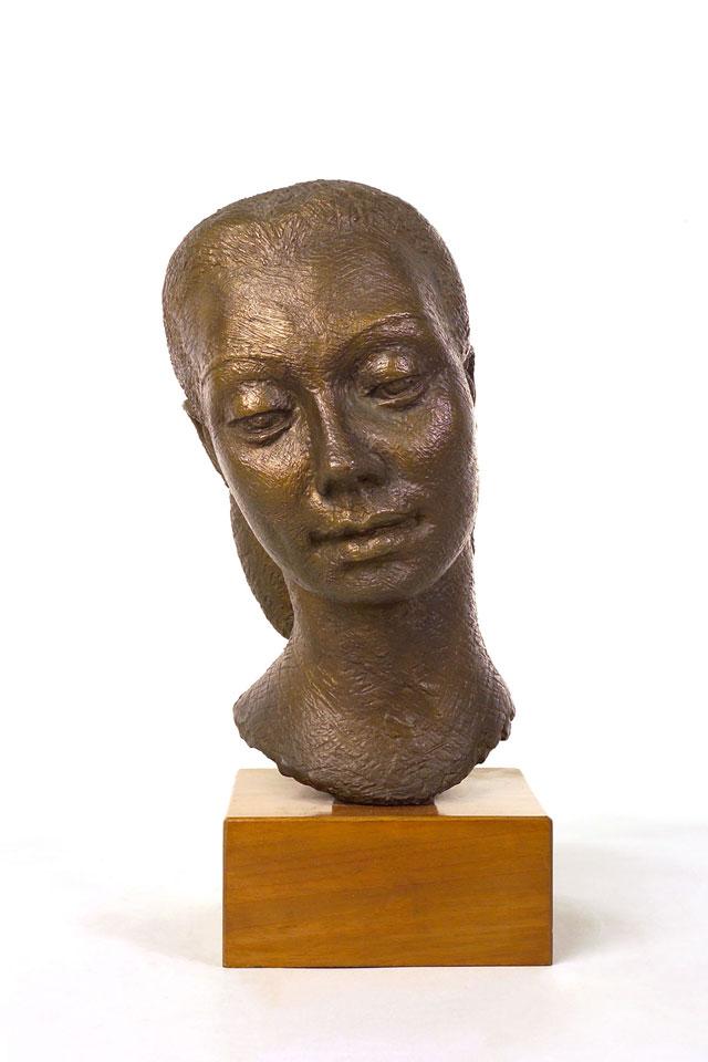 Dora Gordine, Dame Beryl Grey, 1954, bronze