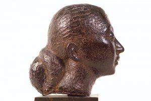 Dora Gordine, Self-Portrait/Purple Head, 1930-1 © Dorich House Museum