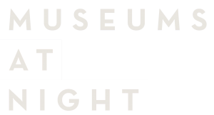 Museum at night logo