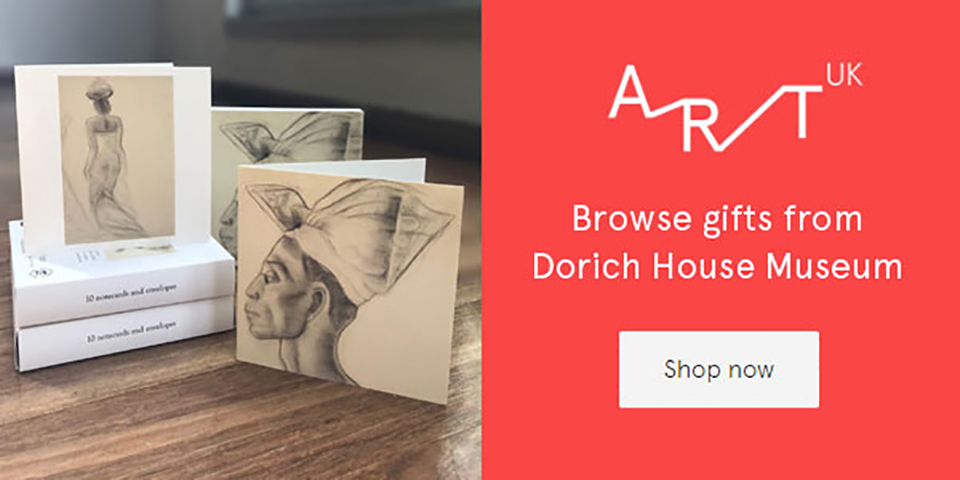 Browse gifts from Dorich House Museum Shop Now button