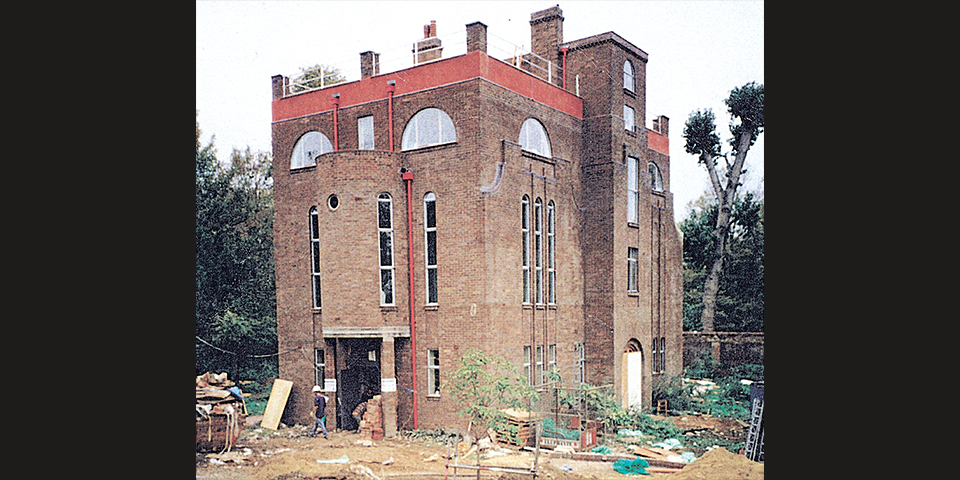 Dorich House during the renovation, c.1995–96